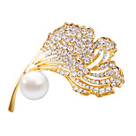 /Brooches/Fashionable/Gold/Daily/Personality