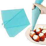 ferramenta bolo saco de creme de confeiteiro silicone tubulação pastelaria decoração 30 centímetros de comprimento