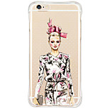 Shockproof/Transparent/Pattern Sexy Lady TPU Soft Case For Apple iPhone 6s Plus/6 Plus/iPhone 6s/6/iPhone SE/5s/5