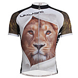 Breathable And Comfortable Paladin Summer Male Short Sleeve Cycling Jerseys DX706 Lion
