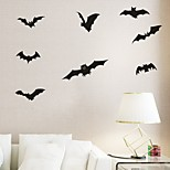 Animaux / Vacances Stickers muraux Stickers avion Stickers muraux décoratifs,PVC Matériel Amovible Décoration d'intérieur Wall Decal