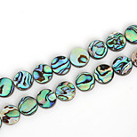 Beadia 12mm Round Natural Abalone Sea Shell Beads (38cm/approx 31pcs)