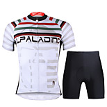 PaladinSport Men Cycyling Jersey  Shorts Suit DT704 Article Grey