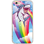 Pattern Animal Rainbow Shark PC Hard Case Back Cover For Apple iPhone 6s Plus/6 Plus/iPhone 6s/6/iPhone SE/5s/5