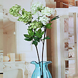1PC  Household Artificial Flowers Sitting Room Adornment Flowers  Polyester Hydrangeas  Artificial   Flowers