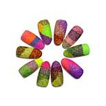 3g Bottle Dazzling Mixed Color Nail Sugar Glitter Dust Powder Beauty Pigment Sequins Manicure Decor #511-522