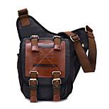 6.5 L Shoulder Bag / Sling & Messenger Bag Camping & Hiking Outdoor Quick Dry / Wearable Canvas KAUKKO Vintage Style Male Sling Bag