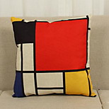 Modern Minimalist Abstract Prints Pillow Fresh Home Several He Gezi Literary Thick Cotton Pillow Cover