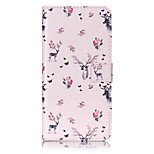 PU Leather Material Deer Pattern Painting Pattern  Phone Cases for iPhone 7 Plus/7/6s Plus / 6 Plus/6S/6/SE / 5s/5