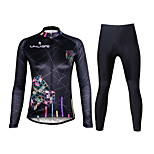 Ilpaladin Sport Women Long Sleeve Cycling Jerseys Suit CT712 Cube