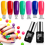7PCS Modelones Nail Art Beauty Shining Gel Polish 7ML Vainish UV Lacquer Soak off