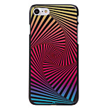 Spiral Ladder Pattern High Quality PC Material Phone Shell For iPhone 7 7 Plus 6S 6Plus SE 5