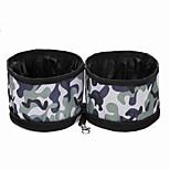 Cat / Dog Bowls & Water Bottles / Feeders Pet Bowls & Feeding Waterproof / Portable Red / Black / Brown / Gray / Khaki Oxford Fabric