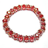 Bracelet Strand Bracelet Crystal Circle Fashion Daily Jewelry Gift Black / White / Red1pc