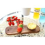 Shelf Japanese High-Grade Black Walnut Wooden Tray Tea Tray Maternal Child Tray Bread Plate