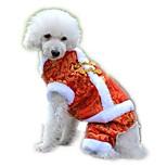 Gatti / Cani Costumi / Cappottini / Felpa / Completi / Tuta / Smoking Rosso / Giallo / Blu Abbigliamento per caniInverno /