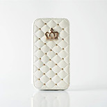Luxury Crown Magnetic Flip Wallet Case Photo Frame Grid Pattern Skin Leather Cover For Iphone  6S 6SPlus 5S SE