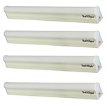 4,5 T5 Tubes Fluorescents Tube 24 SMD 2835 360 lm Blanc Chaud / Blanc Froid Décorative AC 85-265 / AC 100-240 / AC 110-130 V 4 pièces