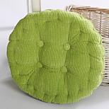 40 * 40 Round Thicker Tatami Mat Cushion Office Seat Cushion Classroom Stereoscopic Plush Chair Pad (Random Color)