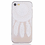 Dream Catcher Pattern Embossed TPU Material Phone Case for  iPhone 7 7 Plus 6s 6 Plus SE 5s 5