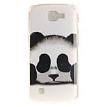 TPU IMD Material Panda Pattern Phone Case For LG K10 K8 K7 K4