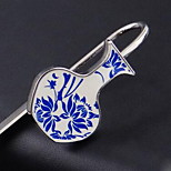 Metal Vase Blue And White Porcelain Bookmark Bookmark Classic Ethnic Characteristics Gifts Can Be Printed Logo