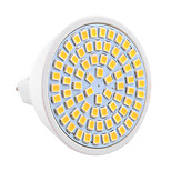 YWXLight 7W GU5.3(MR16) LED Spotlight MR16 54 SMD 2835 600-700 lm Warm White / Cool White Decorative AC/DC 10-30 V 1 pcs