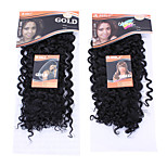 1PC Noble Gold Dancing Curl 18 Color 1Synthetic Hair Extension Hair Weave