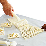 New Plastic Netting Round Knife Dough Bread Pastry Biscuit Pizza Baking Cake Baking Process of Hob Lattice Kitchen Tools