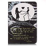 Per A portafoglio / Porta-carte di credito Custodia Integrale Custodia Frasi famose Resistente Similpelle AppleiPad Mini 4 / iPad Mini