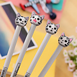 Lovely Cat Form Creative Neutral Pen(1PC)