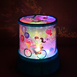 Color-changing Star Beauty Starry Sky Projector Night Light (3xAA, Random Color)
