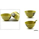 Beilai En Melamine Melamine Tableware Melamine Imitation Wishful Green Rice Bowl Soup Bowl