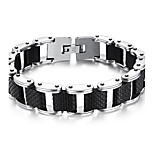 Men's Fashion Jewelry  Rock And Roll Style Titanium Steel Bangles Bracelets Casual/Daily Gift Accessories
