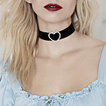 Necklace Choker Necklaces Jewelry Wedding / Party / Daily / Casual Fashionable Alloy Silver 1pc Gift