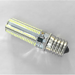 1 pcs E17 5W 152x3014SMD 600 LM Warm White / Cool White T Decorative Bi-pin Lights AC/180-240V