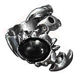 Vintage Ring Men Jewelry Black Scorpion Punk Titanium Steel Ring For Men Jewelry