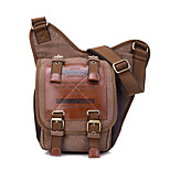 6.5 L Shoulder Bag / Sling & Messenger Bag Camping & Hiking Outdoor Quick Dry / Wearable Canvas KAUKKO Vintage Style Male Sling Bag
