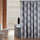 Contemporânea Poliéster 100*200cm ( L x W )  -  Alta qualidade Cortinas de Banheiro