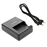 LC-E5E Charger with EU Charger Cable for Canon LPE5 Camera Battery