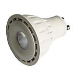 8 GU10 Lâmpadas de Foco de LED MR16 1 COB 550 lm Branco Quente / Branco Frio Regulável AC 220-240 / AC 110-130 V 1 pç