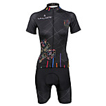 PaladinSport Women Cycyling Jersey  Shorts Suit DT712 Cube