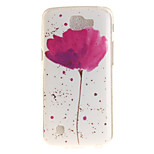 Back Cover IMD Pattern Flower TPU Soft Case Cover For LG LG K10 LG K8 LG K7 LG K4