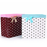 Horizontal Version Gift Bags Wave Point Paper Bag and Fresh Hot Stamping Carrier Bags