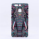 New Style Fluorescent Noctilucent 3D cute Cartoon Animal world Elephant Phone Case Cover For P9 Plus  P9  Mate8