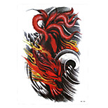 1pc Temporary Tattoo Ferocity Nine-tailed Fox Claw Design Women Men Arm Body Art Waterproof Tattoo Sticker HB-328