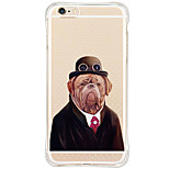Shockproof/Pattern Cartoon Dog TPU Soft Silicone Case Cover For Apple iPhone 6s Plus/6 Plus/iPhone 6s/6/iPhone 5/5s/SE