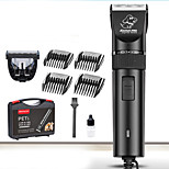 Cat / Dog Grooming Clipper & Trimmer Pet Grooming Supplies Waterproof / Low Noise / Electric Black Ceramic