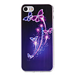Funda Trasera Diseño Mariposa TPU Suave Cubierta del caso para AppleiPhone 7 Plus / iPhone 7 / iPhone 6s Plus/6 Plus / iPhone 6s/6 /