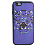 Leopard Head Pattern Silk Material Pattern TPU Phone Case For iPhone 6s 6 Plus